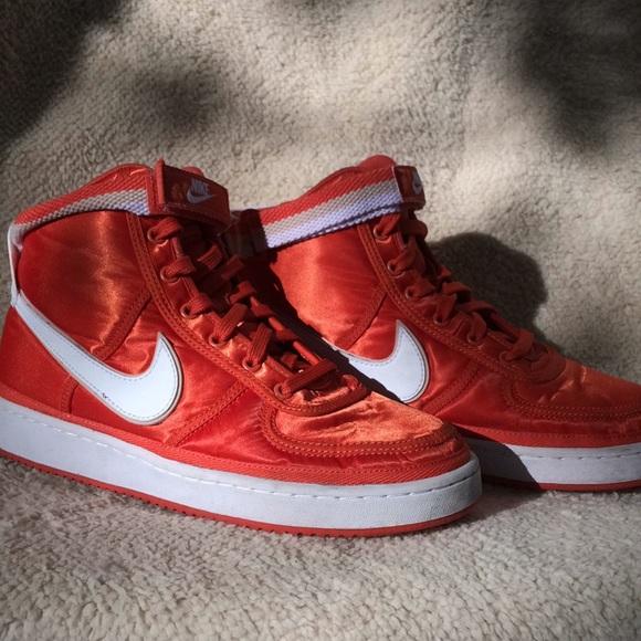 Cubeta Pera Mejor  Nike Shoes | Nike Vandal High Supreme Gs Vintage Coral | Poshmark